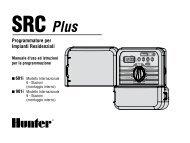 SRC Plus - Hunter Industries