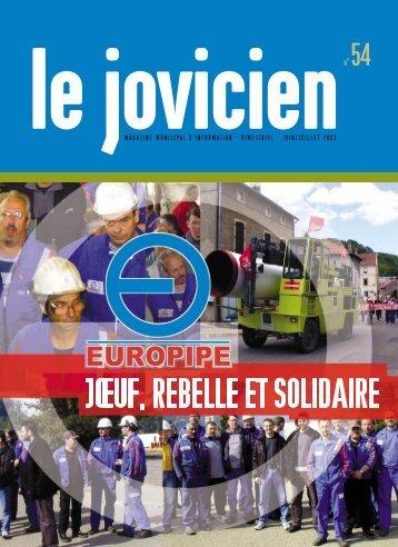 magazine municipal d'information - bimestriel - juin/juillet 2003 - Joeuf