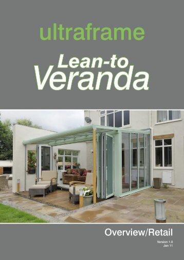 Veranda Overview Retail 8pp.indd - Ultraframe