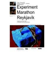 Marathon Handout,(,pdf) - Reykjavik Art Museum
