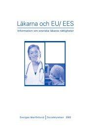 Läkarna och EU/ EES - Sveriges läkarförbund