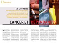 cancer et dépendances - Ligue-cancer83.net