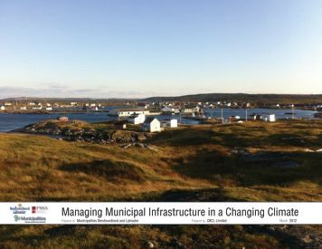 Managing Municipal Infrastructure in a Changing Climate