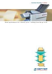 Brochure TF MEGA-A - HEFTER Systemform