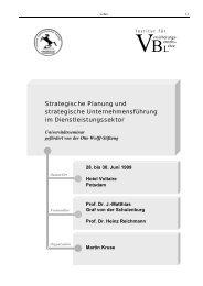 Strategische Planung und strategische Unternehmensführung im ...
