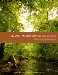 MCCM2Q2014.Market Outlook
