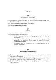 Vereinssatzung - Deutsche Schule Moskau
