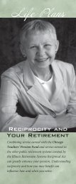 Reciprocity and Your Retirement - Public School Teachers' Pension ...