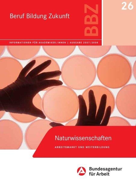 Arbeitsmarkt für Naturwissenschaftler - Fachbereich Biologie ...