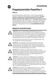 PowerFlex 4 User Manual - ACP & D, Ltd