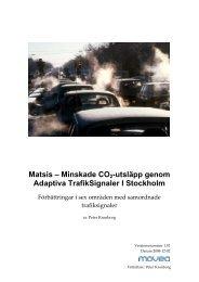 Matsis - Movea Trafikkonsult AB