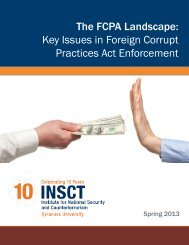 The FCPA Landscape: Key Issues in Foreign Corrupt Practices Act ...