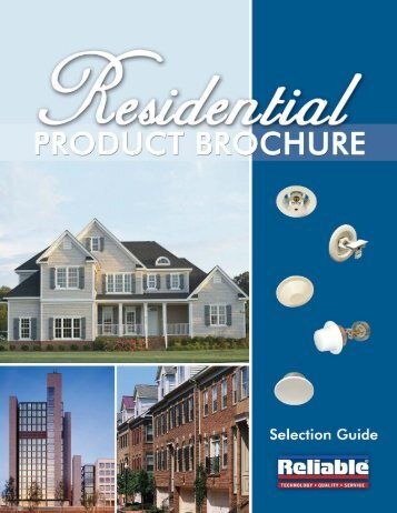 Residential Brochure_Full line Brochure - Reliable Automatic ...