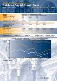 Capital Growth June 04 - Rathbone Unit Trust Management