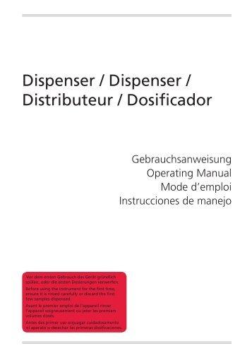 Dispensador Classic - VITLAB