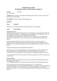 Protokoll Runder Tisch 20.04.04 - Agenda-wuerselen.de
