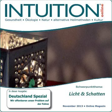 Licht & Schatten - INTUITION online