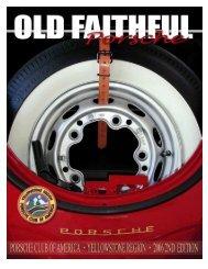 Old Faithful Porsche PORSCHE CLUB OF AMERICA - Yellowstone ...