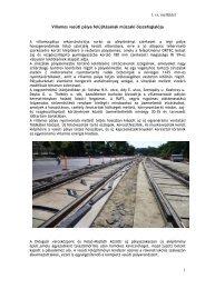 1. sz. melléklet Villamos vasúti pálya felújításának műszaki ...