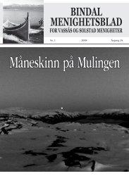 Menighetsbladet nr 1-2008 - Bindal kommune