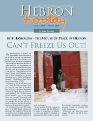 Download pdf here - A Hebron Community