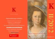 Programmheft 2012 - Kulturverein Eberdingen