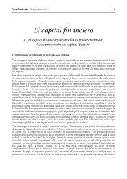 El capital financiero II