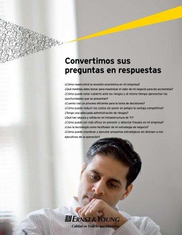 Convertimos sus preguntas en respuestas - Ernst & Young
