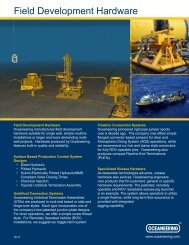Field Development Hardware - Oceaneering