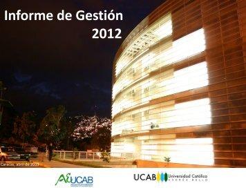Informe de Gestión 2012 - AEUCAB