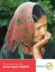 Annual Report 2008-9 - Practical Action