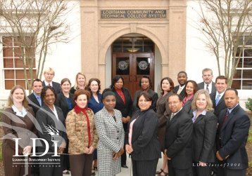 LDI Classof2008 - Louisiana Community and Technical College ...