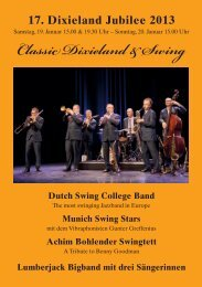 Classic Dixieland & Swing - Ludwigsburger Kultursommer & in der