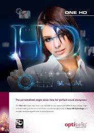 One HD (PDF) - Optiswiss AG
