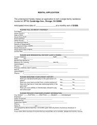 Print and Fill Out a Rental Application - Amir Zaki