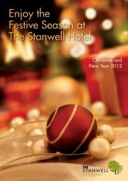Christmas Day Lunch - The Stanwell
