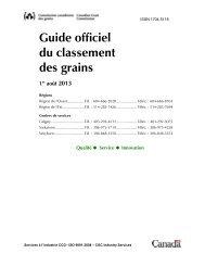 Guide du classement des grains - Maïs - Commission canadienne ...