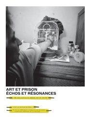 Art et Prison échos et résonAnces