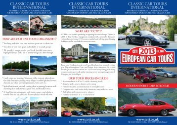 CCTI - Classic Car Tours International