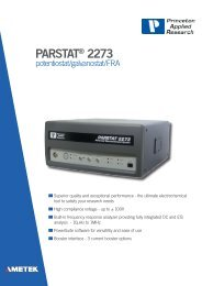 PARSTAT® 2273 - Princeton Applied Research
