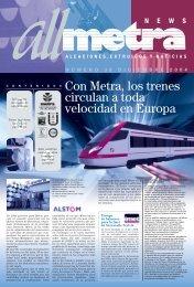 trenes modulares - Metra SpA