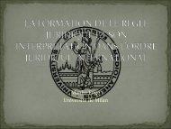 la formation de le regle juridique et son interpretation dans l'ordre ...