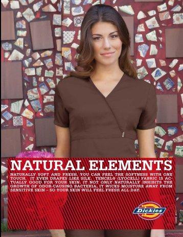 natural elements prints - Custom Dickie Scrubs