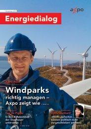 Energiedialog November 2013 - Axpo