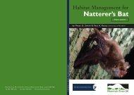 MTUK Natterer Booklet - People's Trust for Endangered Species