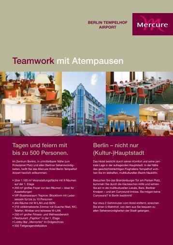 Teamwork mit Atempausen Berlin – nicht nur (Kultur-)Hauptstadt