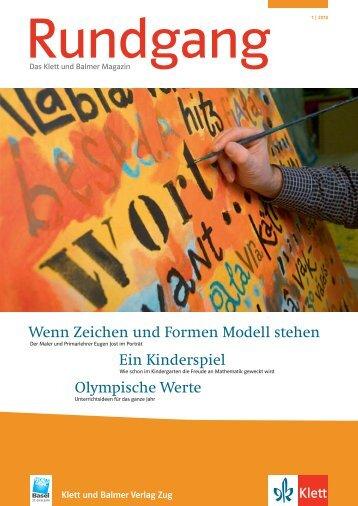 Ausgabe Nr. 1/2010 - Klett und Balmer Verlag Zug