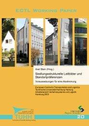 Siedlungsstrukturelle Leitbilder und Standortpräferenzen - Institut für ...