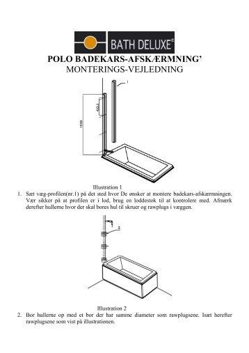 monterings-vejledning - Bath Deluxe