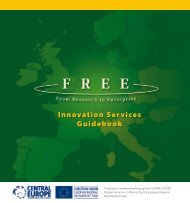 Innovation Services Guidebook - Central Europe